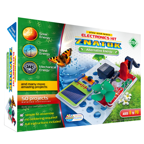 Electronic Experiments Kit | Discovery Kits For Kids | ZNATOK